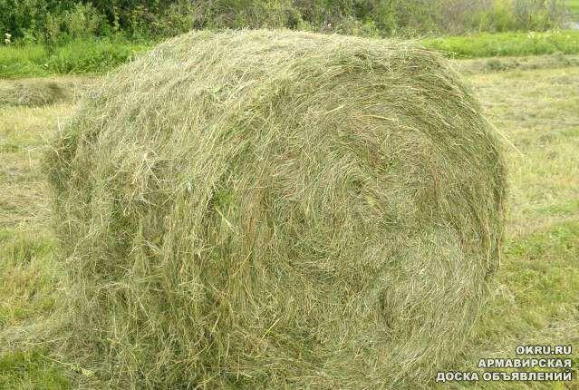 Как сделать тюки сена