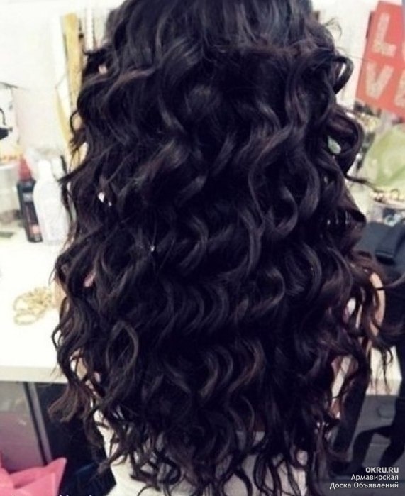 Красивые кудри на длинные волосы в домашних условиях