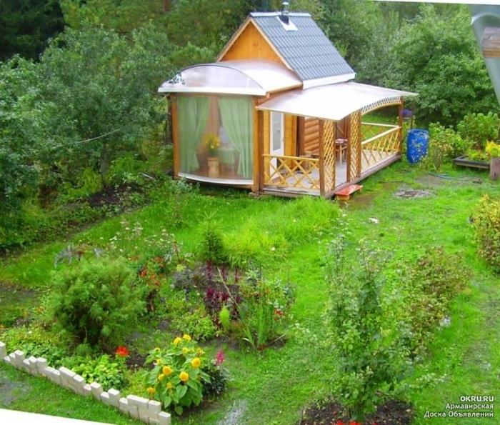 Строим дом на даче