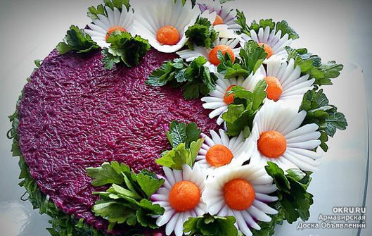 Красивые фото салатов красивое оформление очень много фото