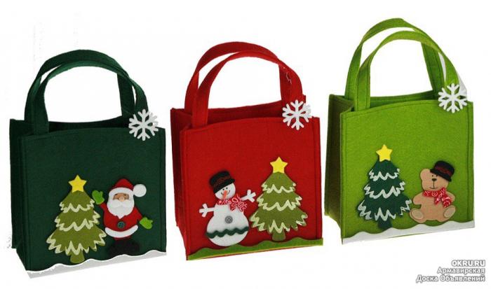 Сделать сумочку для подарков