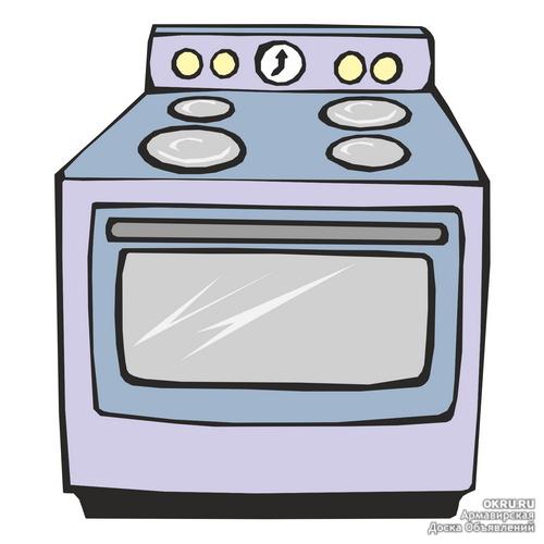 Газовая плита для детей