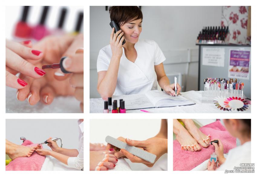 Преподаватель маникюра и педикюра наращивания ногтей