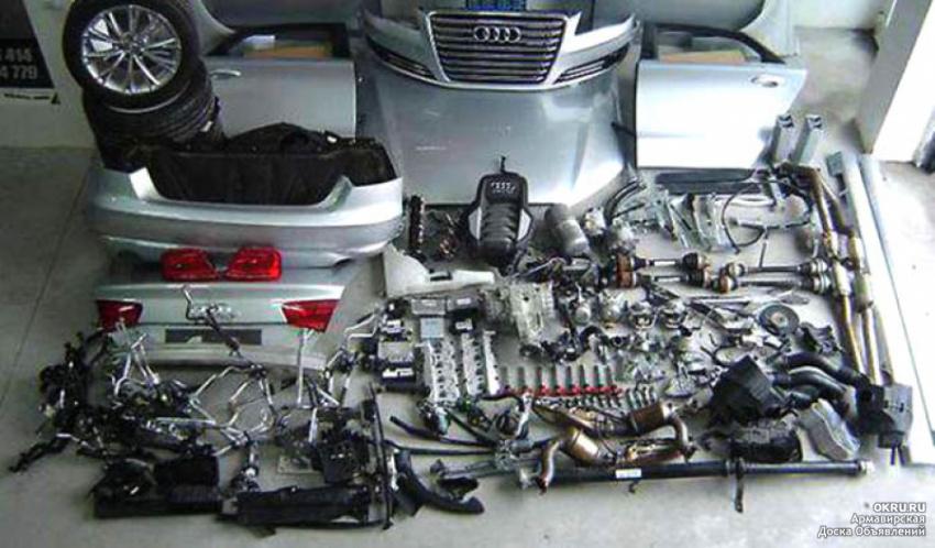Запчасти Ауди б/у и новые. Автозапчасти Audi Киев.
