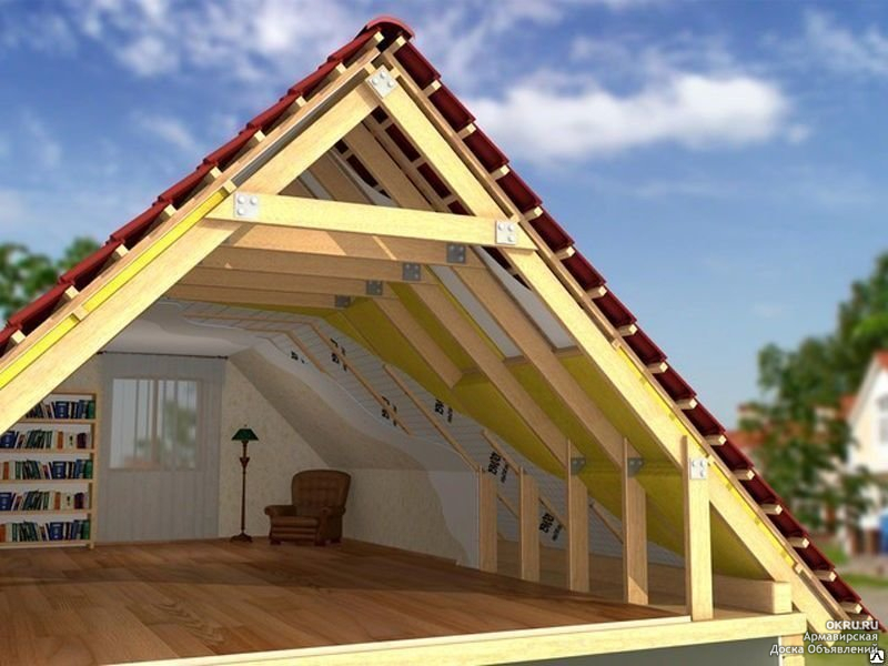 Строительство дома с мансардой видео
