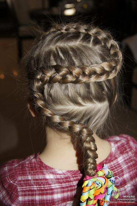 Плетение коса змейка видео