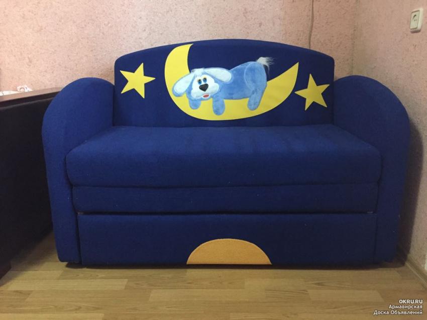 Детский диван-крова. дивану 1.
