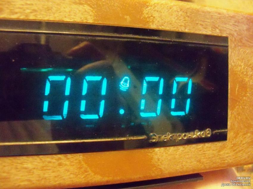 Часы электроника 6.14-01 характеристики