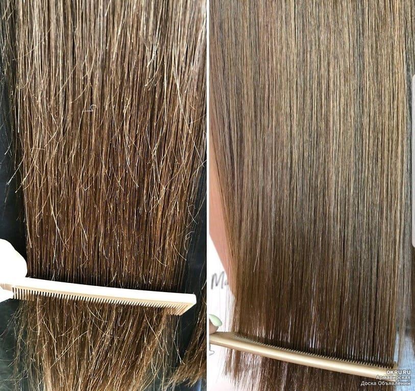 как убрать секущиеся волосы фото самых популярных