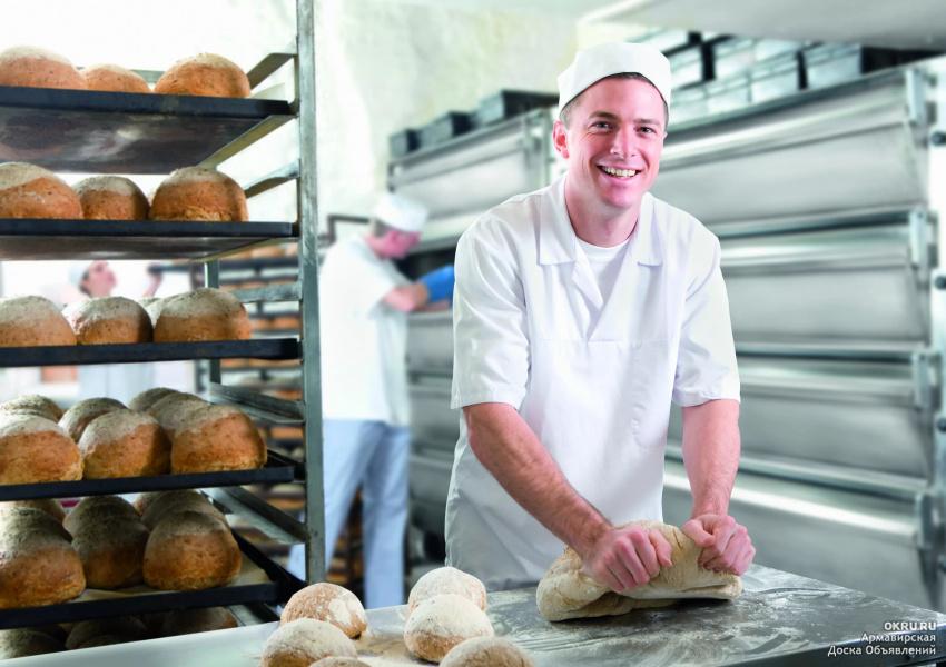 Профессии в картинках пекарь